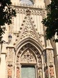 Sevilla Katedralny Wejściowy szczegół fotografia royalty free