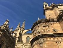 Sevilla-Kathedrale Stockfotos