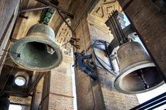 SEVILLA: Las campanas del Giralda en Sevilla espa?a imágenes de archivo libres de regalías