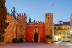 Sevilla. Lions Gate. Stock Photography