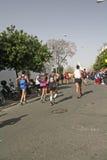 Sevilla Marathon 2016 Stock Photo
