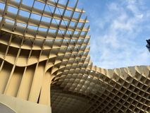 Sevilla metropol Arkivbild