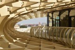 Sevilla Metropol Parasol Arkivbild