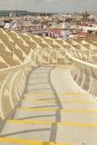 Sevilla Metropol Parasol Arkivfoton