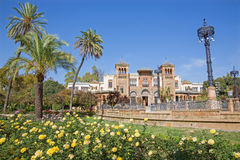 Sevilla - museo de los artes y de las tradiciones populares (museo de Artes y Costumbres Populares) imagen de archivo libre de regalías