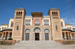 Sevilla - museo de los artes y de las tradiciones populares (museo de Artes y Costumbres Populares) foto de archivo libre de regalías