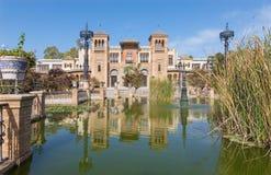 Sevilla - museo de los artes y de las tradiciones populares (museo de Artes y Costumbres Populares) foto de archivo