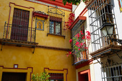 Sevilla old town near calle Agua Vida st Spain Royalty Free Stock Image