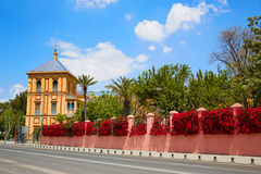Sevilla Palacio de San Telmo Andalusia von Spanien lizenzfreie stockfotos