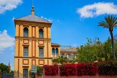 Sevilla Palacio de San Telmo Andalusia von Spanien stockfotografie