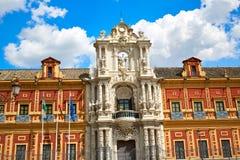 Sevilla Palacio San Telmo in Andalusien Spanien stockbild