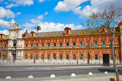 Sevilla Palacio San Telmo in Andalusien Spanien lizenzfreie stockfotografie