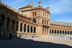 Sevilla-Piazza Lizenzfreie Stockfotos