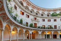Sevilla Plac Del Cabildo zdjęcia royalty free