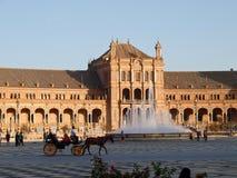 Sevilla - Plaza de España Lizenzfreies Stockbild