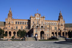 Sevilla: Plaza de Espana Foto de archivo libre de regalías