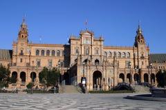 Sevilla: Plaza de Espana Lizenzfreies Stockfoto