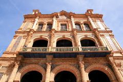 Sevilla, Plaza De Espana Palace, Spain Stock Photo