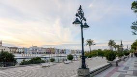 Sevilla - 'promenade' Fotografía de archivo