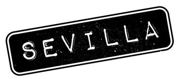 Sevilla rubber stamp Royalty Free Stock Photography