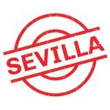 Sevilla rubber stamp Stock Image