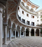 Sevilla`s courtyard Stock Photography