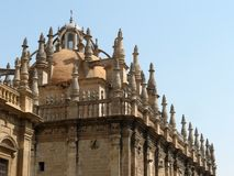 Sevilla's pinnacles Stock Photography