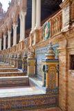 Sevilla Sevilla Plaza de Espana in Andalusia royalty-vrije stock foto's