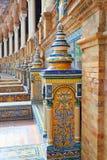 Sevilla Sevilla Plaza de Espana in Andalusia royalty-vrije stock afbeelding