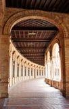 Sevilla Sevilla Plaza de Espana Andalusia Spain Royalty-vrije Stock Afbeeldingen