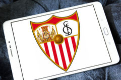Sevilla soccer club logo Stock Photos