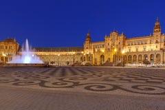 Sevilla Spaanse Vierkant of Plaza DE Espana royalty-vrije stock fotografie