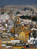 Sevilla, Spain 02. An aerial view of the city of Sevilla, Spain royalty free stock photography