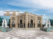 Sevilla, Spain - February 12, 2015: Island of the Charterhouse. The Universal Exposition of Seville. Moroccan Pavilion. royalty free stock images