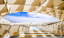 SEVILLA,SPAIN -JUNE 05 : Metropol Parasol in Plaza de la Encarna. Stock Photo