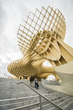 Sevilla, Spain. The Metropol Parasol in Sevilla, Spain stock photography