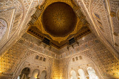 Sevilla, Spain. Moorish palace in Sevilla, Spain stock images