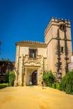 Sevilla, Spanien - 19. Juni: Der Turm im Alcazargarten, Sevil Stockfoto