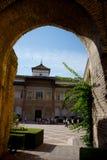 Sevilla, Spanien - 19. Juni: Der wirkliche Alcazar, Sevilla, Spanien auf Ju Stockbilder