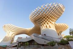 Sevilla, Spanien, moderne Architektur ist Design JÃ ¼ rgen Mayer, Metropol-Sonnenschirm Setasde Sevilla im Juni 2018 lizenzfreies stockfoto
