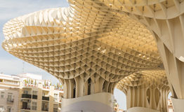 Sevilla, Spanje, April 2015: De Metropolparasol is een houten structu Stock Foto
