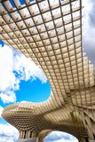 SEVILLA - SPANJE: Metropolparasol in Plein Encarnacion, Andalusia provincie stock foto