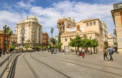 Sevilla turnerar Fotografering för Bildbyråer