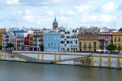 Sevilla-Ufergegend Lizenzfreie Stockfotos