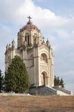 Sevillano (瓜达拉哈拉,西班牙)的公爵夫人的万神殿 库存照片