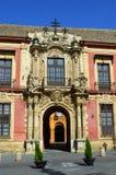 Seville - ärkebiskopslott royaltyfria foton