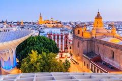 seville Испания стоковые фотографии rf