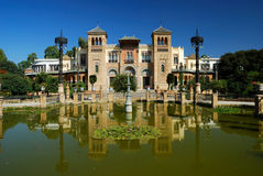 Seville. (Andalusia - Spain) - Pavilion Mudejar Royalty Free Stock Photography