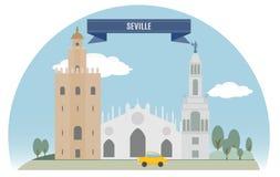 Seville ilustracja wektor