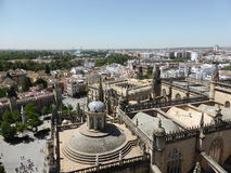 Seville from above, Spain Stock Photos